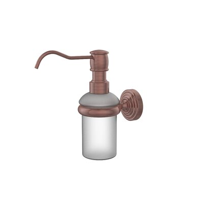 Waverly Place Wall Mounted Soap Dispenser Finish: Antique Copper
