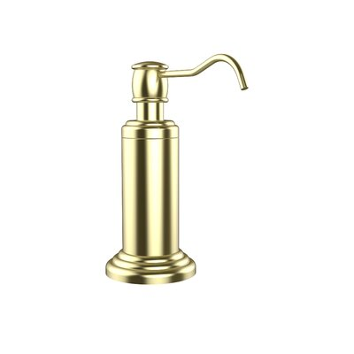 Waverly Place Free Standing Soap Dispenser Finish: Satin Brass