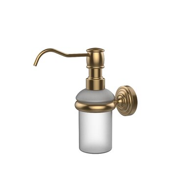 Waverly Place Wall Mounted Soap Dispenser Finish: Brushed Bronze
