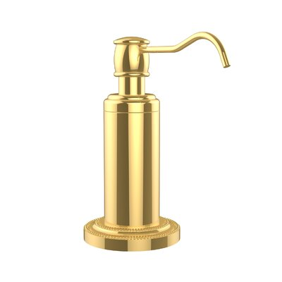 Dottingham Free Standing Soap Dispenser Finish: Polished Brass