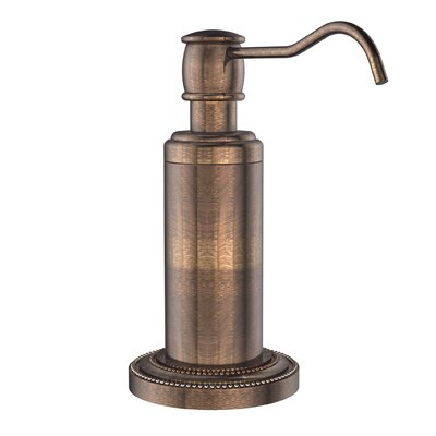 Dottingham Free Standing Soap Dispenser Finish: Venetian Bronze