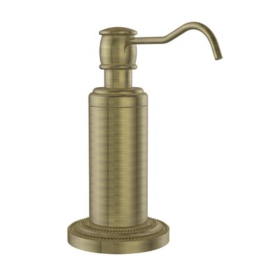 Dottingham Free Standing Soap Dispenser Finish: Antique Brass