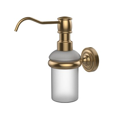 Dottingham Wall Mounted Soap Dispenser Finish: Brushed Bronze
