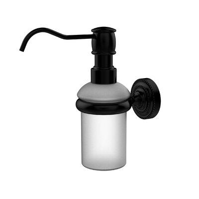 Dottingham Wall Mounted Soap Dispenser Finish: Matte Black