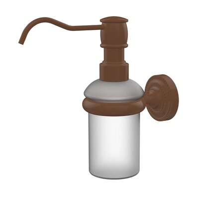 Dottingham Wall Mounted Soap Dispenser Finish: Antique Bronze