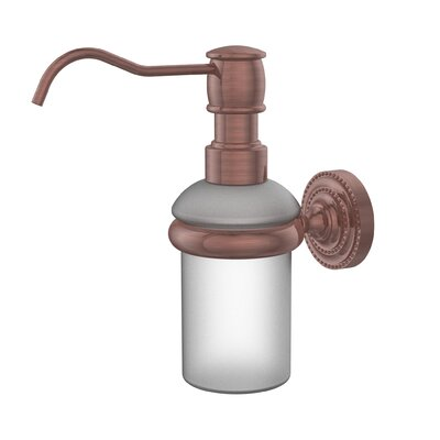 Dottingham Wall Mounted Soap Dispenser Finish: Antique Copper