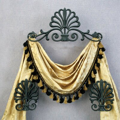 "Menagerie Casa Artistica Peacock 21.5"" Curtain Valance - Color: Bronze at Sears.com"