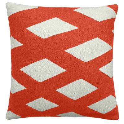 Plaid Wool Throw Pillow