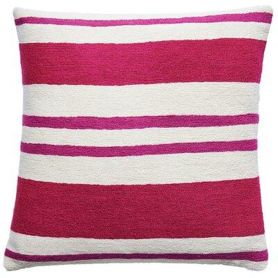 Cabana New Zealand Wool Throw Pillow Color: Cerise/Fuchsia
