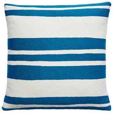 Cabana New Zealand Wool Throw Pillow Color: Tropical Blue