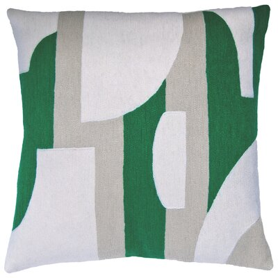 Composition New Zealand Wool Throw Pillow