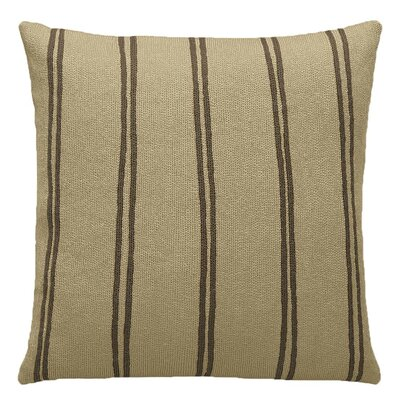 Judy Ross Double Stripe Pillow - Color: Blonde / Fig