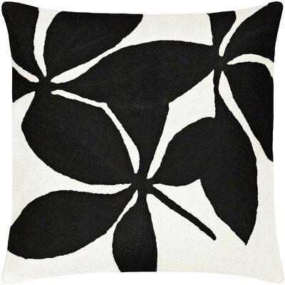 Fauna Wool Throw Pillow Color: Cream / Black