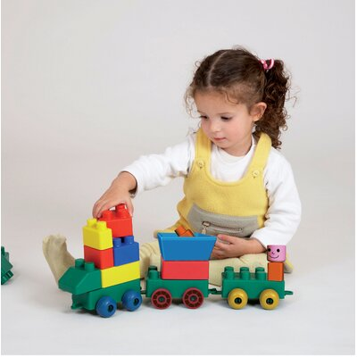 Edushape Mini Edu Block Toy Train - Storage: Box at Sears.com