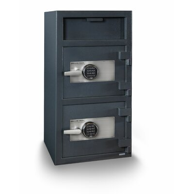 Double Door Electronic Lock Depository Safe Product Image 1500
