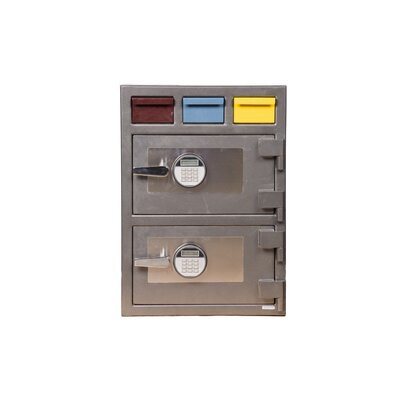 Triple Drop Commercial Depository Safe Lock Type: Electronic Lock Product Image 1560