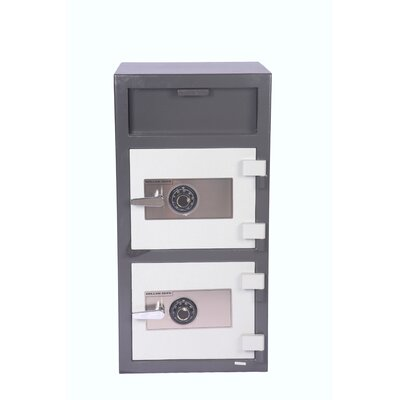 Double Door Dial Lock Depository Safe Product Image 835