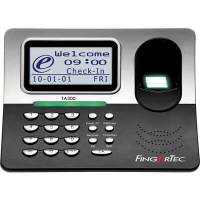 Time and Attendance USB Time Clock with Fingerprint and Battery Backup