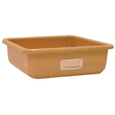 "Fabri-Form Co Square Storage Tray - Color: Tan, Size: 4"" H x 12"" W x 14"" at Sears.com"