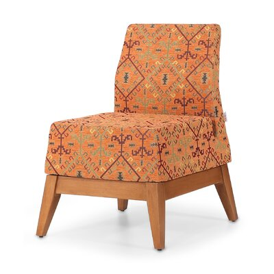 Trap Slipper Chair Finish: Orange