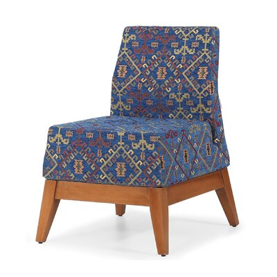 Trap Slipper Chair Finish: Blue