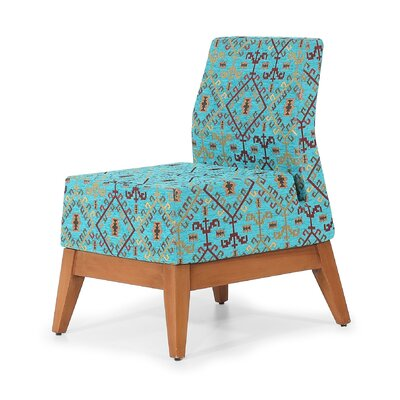 Trap Slipper Chair Finish: Turquoise