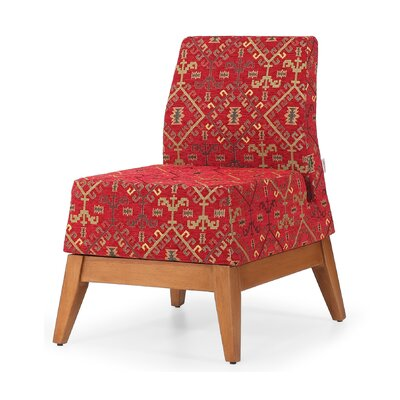 Trap Slipper Chair Finish: Red