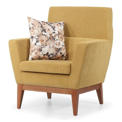 AERO Occasional ArmChair Upholstery: Mustard