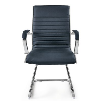 Kingsview Mid-Back Executive Guest Chair Color: Black