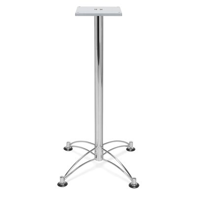 Base for 36 and 42 Square and Round Caf� Tables Base Finish: Chrome