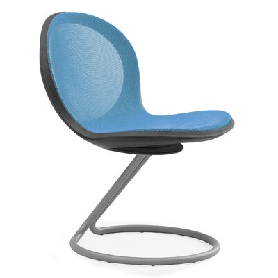 Net Round Base Chair (Set of 2) Color: Skyblue