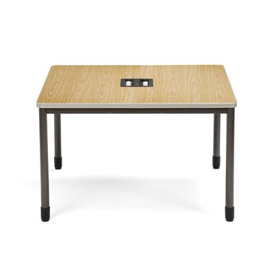 47.25 W Mesa Series Training Table Tabletop Finish: Oak
