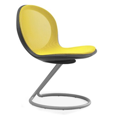 Net Round Base Chair (Set of 2) Color: Yellow