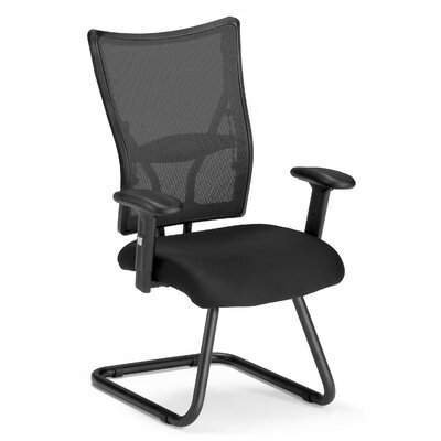 Ultimate Mesh Conference Guest Chair Color: Black