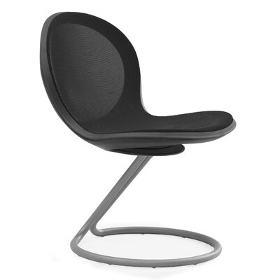 Net Round Base Chair (Set of 2) Color: Black