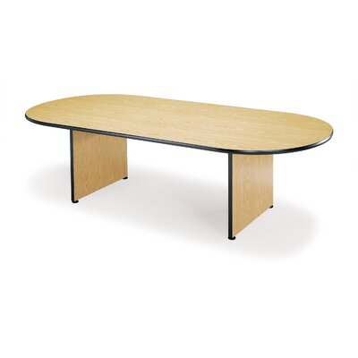 Napa 8' Oval Conference Table Color: Med Oak Product Picture 1021
