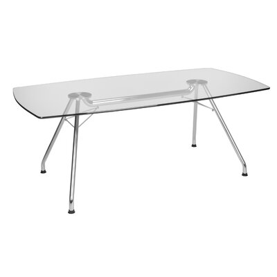 Sapienza Curved End 39H x 29W x 77L Conference Table
