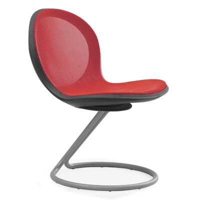 Net Round Base Chair (Set of 2) Color: Red