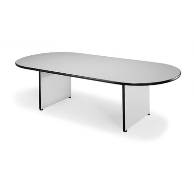 Napa 8 Oval Conference Table Color: Gray