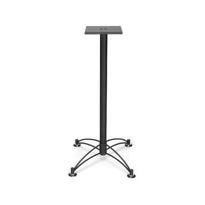 Base for 36 and 42 Square and Round Caf� Tables Base Finish: Black