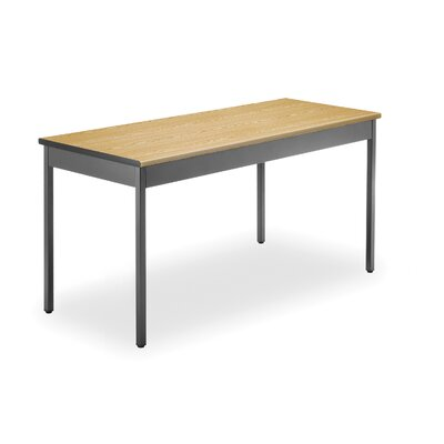 60 W Training Table Tabletop Finish: Oak