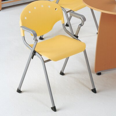Oleanna Stacking Chair Seat Finish: Lemon Yellow