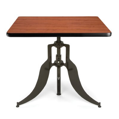 Endure Series Adjustable Height 36 Pub Table Color: Cherry