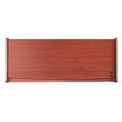 RiZe 15 H x 45.7 W Desk Hutch Finish: Cherry