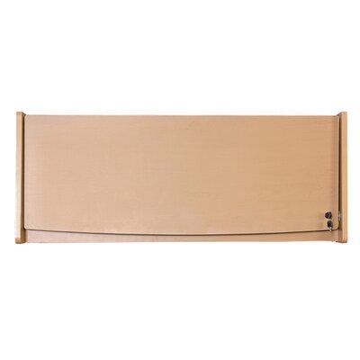 RiZe 15 H x 45.7 W Desk Hutch Finish: Maple