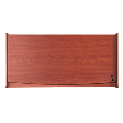 37 Hanging Flipper Door Cabinet Finish: Cherry