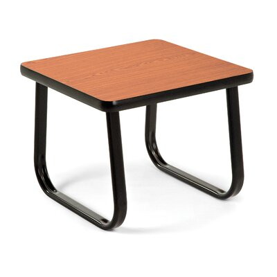 End Table with Sled Base Color: Cherry