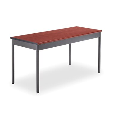 60 W Training Table Tabletop Finish: Cherry