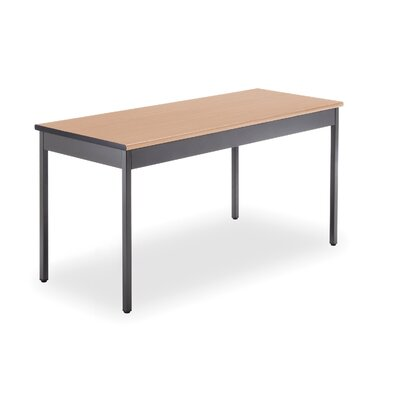 60 W Training Table Tabletop Finish: Maple