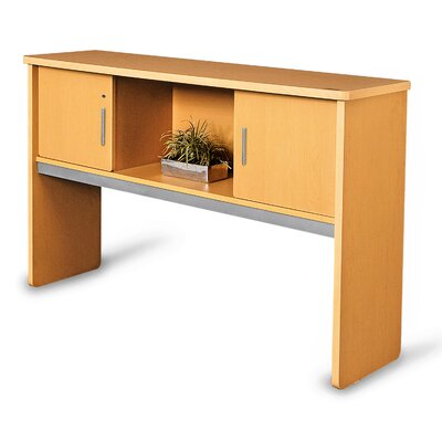 Milano 39.5 H x 63.75 W Desk Hutch Finish: Maple